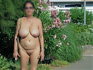 (8 pictures) Chubby matures outdoor